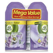 Air Wick Freshmatic Ultra Spray Refill Lavender/Chamomile Aerosol 6.17oz 2/Pk 3