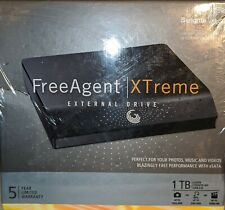 Seagate FreeAgent XTreme 1TB External 7200RPM HDD NEW SEALED