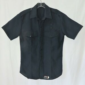 ELBECO Transcon Flame Resistant Nomex Navy Blue Shirt Tactical Firefighters EMT