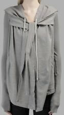 Rick Owens Iconic Sweater Peaked Hood Tie Wrap Knitted Sleeves