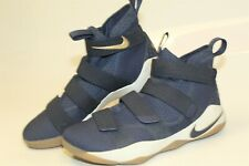 Nike 897644-402 LeBron Soldier 11 Cavs Navy Mens 9.5 43 Sneakers Shoes