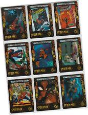 "Spider-Man Filmcardz - 9 Card ""Amazing Spider-Man"" Chase Set Ph1-Ph9 Artbox 2002"