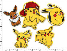 50 Pcs Embroidered Iron on Patches 5 assorted Pokemon Characters AP024pK1