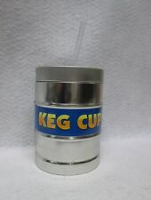 Keg Cup Drinking Cup Straw 24oz Reusable Beer Mug Bar Man Cave Gift Party Favor