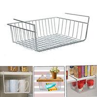 Under Shelf Storage Hanging Rack Kitchen Holder Basket Table Cabinet Organizer