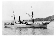 MAORI (1) Union Steam Ship Co, New Zealand c1880s modern digital Photo Postcard