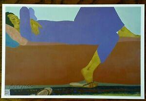 NUUANU A.M. a Signed PEGGE HOPPER Print~ A Mini Off-Set Lithograph NEW ~ HAWAII