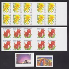 Belgique 2001 Cob# 3044/47 NON DENTELES Imperforate MNH - Cat Val 230€....A4426