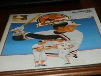 BALTIMORE ORIOLES 1984 SCOREBOOK GAME PROGRAM CAL RIPKEN JR VINTAGE COLLECTIBLE