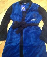 Boys Dressing Gown Robe Sleepwear Chelsea Official Product 18/24 M 2/3 7/8 yrs