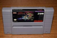 Super R-Type Super Nintendo SNES Cartridge Game Authentic Tested Working