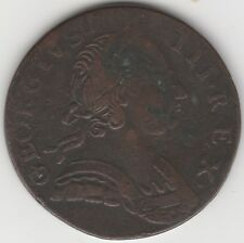 1774 George III Non Regal Colonial Halfpenny | Pennies2Pounds (G1)