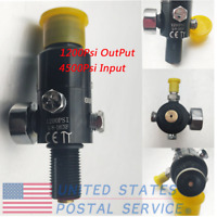 5/8''-18UNF Thread Paintball Valve Regulator 4500psi HPA Air Tank Output 1200psi