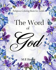 The Word of God: Religious Coloring Book for Adults