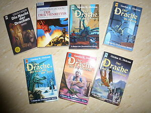 Gordon R Dickson Drachenritterzyklus  Band 1 - 7