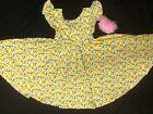 NEW Dot Dot Smile Twirly Summer dress Girls Empire Lemons print