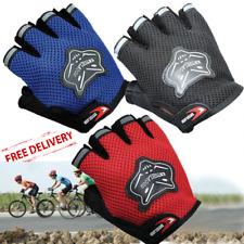 Children Kids Bike Gloves Half Finger Anti Slip Breathable Fingerless Boys Girls