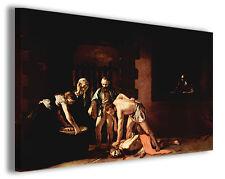 Quadro moderno Caravaggio vol X stampa su tela canvas pittori famosi