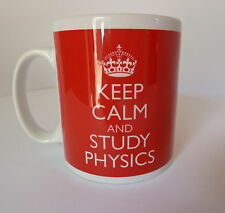 Physics Student Keep Calm Mug Gift Present Tea Coffee Teacher Fun University
