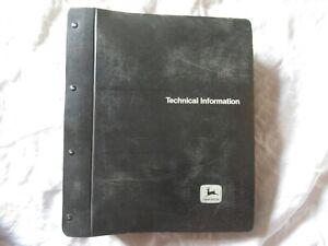 John Deere 4000 4020 tractor repair service technical manual hard cover binder