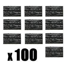 100 Réparation de Pneus Plaques Lot Roues Pièce Voiture Kit Camion
