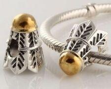 European Gold Fine Charm(s)s Bracelets