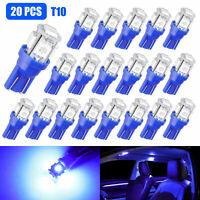 20 X Ultra Blue T10 5050 LED Wedge Car 5 SMD Light Bulb W5W 194 168 2825 158 192