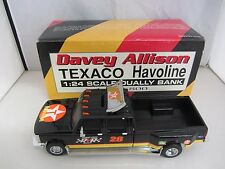 RCCA Davey Allison #28 Robert Yates Racing Dually 1/24 Diecast Bank 1 of 2,800