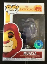 Funko Pop Vinyl Figure Disney Lion King - Spirit Mufasa PIAB Exclusive #495