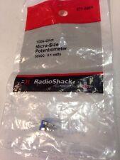 100k Ohm Micro Size Potentiometer 271 0284 By Radioshack