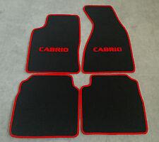 Fußmatten Auto Autoteppich passend für Audi 80 90 B3 1986-91 Set CACZA0103