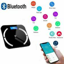 Bluetooth Body Fat Weight Scale Electronic Smart Fitness Analyzer APP US Stock