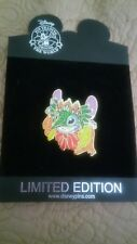 Disney Stitch Mardi Gras LE100 very hard to find masked glitter pin, new on card