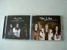 THE LIKE job lot of 2 promo CDs Are You Thinking What I'm Thinking? Sampler