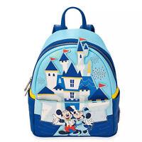 FAST FREE SHIP Disneyland Park 65th Anniversary Loungefly Disney Mini Backpack