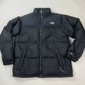 The North Face 600 Down Puffer Jacket Boys Size XL Black