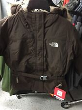 The North Face Greenland Jacket Youth Girls Large color: Brown