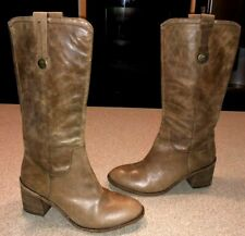 Kork Ease Knee High Brown Boots k6128 Size 10