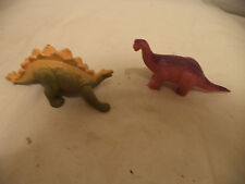 Vintage 1988 Lot Of 2 Playskool Definitely Dinosaurs Apatosaurus Stegosaurus