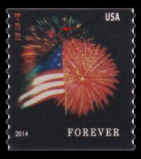 4868 (CF1) Postal Counterfeit Star Spangled Banner Flag Forever 2014 MNH Buy Now