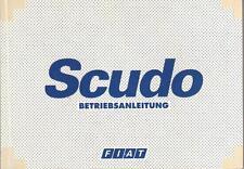 FIAT SCUDO 2 Betriebsanleitung 2007 Bedienungsanleitung Handbuch Bordbuch BA