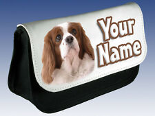 COCKER SPANIEL PERSONALISED PENCIL CASE / DS CASE / MAKE UP BAG - FAB NAMED GIFT