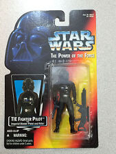 STAR WARS THE POWER OF THE FORCE TIE FIGHTER PILOT ORANGE CARD