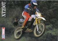 Yamaha XT250T Sales Brochure, 1985 Original NOS