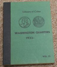 Library of Coins Washington Quarters Album 1932--  NO Coins in Album