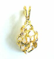 New Pendant Gold Plated Charm For Necklace Chain Fashion Jewelry Free Shipping
