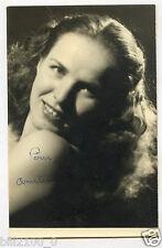 PHOTO ancienne . AUTOGRAPHE . Odette Barrière .