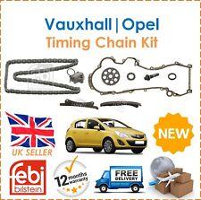 Per Vauxhall Opel Astra Corsa Combo Mervia Febi Bilstein TIMING CHAIN KIT NUOVO