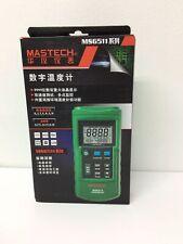 Mastech Ms6514 Digital Thermometer Dual Channel Temperature Sensor
