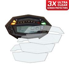 3 x panel de Kawasaki Z1000 2015+ protector de pantalla: Ultra Claro